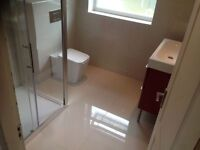 Bathroom fitter, plumbing , tiler