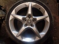 Vauxhall 18 Inch 5 Stud Alloy Rims only ---- NO TYRES -- set of 4