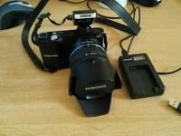 Samsung nx1000 20.3mp with 18-55 lens