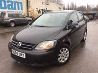 05 Plate - VW Golf Plus 1.6 - One year mot - Warranted miles - 6 speed gear box - perfect drive