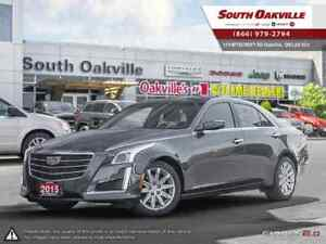 2015 CADILLAC CTS 2.0L Turbo | HEATED & VENTED LEATHER | NAVIGAT