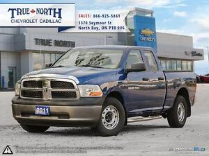 2011 Dodge 1500 ST 4WD - LEATHER INTERIOR