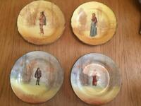 Royal doulton Shakespeare plates
