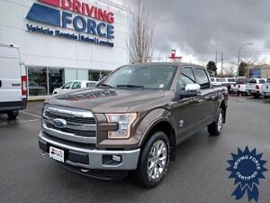 2016 Ford F-150 King Ranch FX4 Super Crew 4x4 - 30,627 KMs