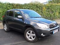 TOYOTA RAV4 XTR 4x4 D4D DIESEL LOW MILEAGE YEAR MOT TAX VERY ECONOMICAL AND RELIABLE
