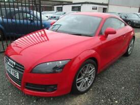 Audi TT 2.0 TDI QUATTRO SPORT 2dr + BLACK LEATHER + FULL AUDI SERVICE HISTORY (red) 2008