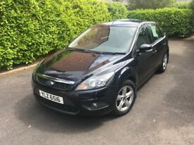 Ford Focus Zetec 1.6 Petrol, Manual - Panther Black Metallic