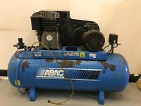 ABAC 3 Phase Air Compressor 200 Litre Capacity 5.5hp