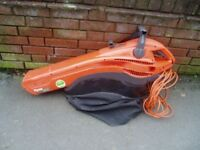 Flymo leaf blower and vacuum,SOLD COLLECTING TUES AM