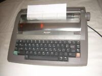 Electronic Typewriter - Sharp Model QL-210 portable