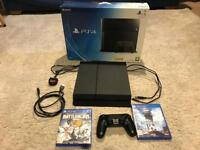 Sony PS4 PlayStation 4 Boxed Console & Games