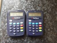Natwest card readers