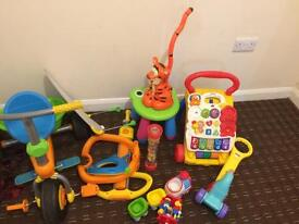 Trike,walker n other toys