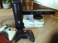 Xbox 360 + Kinect + games REDUCED !!