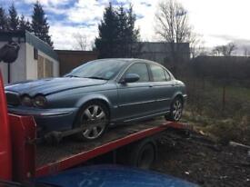 Jaguar x type 2.0d breaking full car