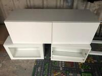 Ikea Besta Storage Unit TV Bench