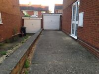 Single garage to rent Maulden, dry and secure with power.
