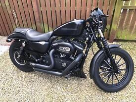 Harley Davidson Sportster Iron Stage 2