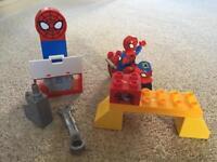 Lego duplo Spider-Man workshop.