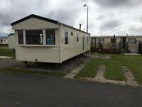 **static**caravan**3bed**cheap**onsite**facilities**entertainment**familypark**deposit