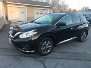 2017 Nissan Murano SL Navagation, Sunroof AWD