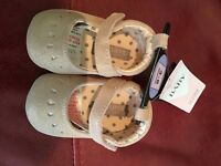 Brand new M&S baby girl shoes 3-6 month