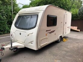 caravan 2 berth avondale coachcraft 2009