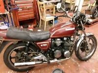 Kawasaki z 750 superb usable classic , years test , £1995 may px