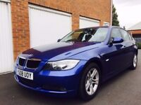 2008 08 BMW 318d ** 2 litre Diesel ** Manual ** Company Owned ** Not Audi A3 A4 M Sport **