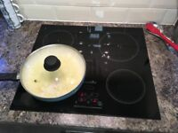 Viceroy VCRTC160 Induction Hob. Working for spares or repair or 3 ring use