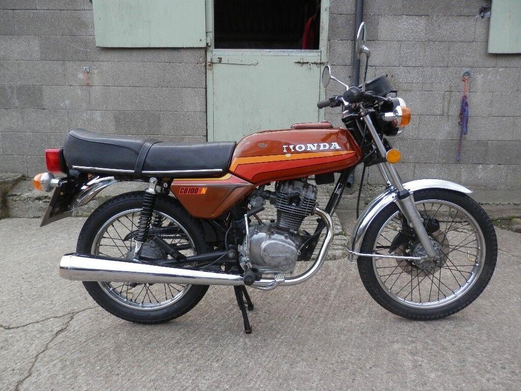 Honda CB1OON CB 100 N Classic Bike HPI Clear MOT