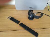Motorola Moto 360 android wear smart watch & brand new strap