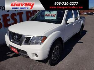 2016 Nissan Frontier PRO-4X LEATHER, SUN ROOF, 4X4