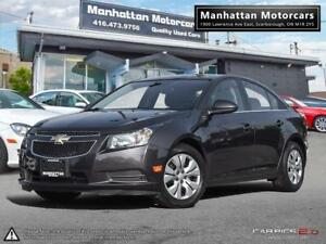 2014 CHEVROLET CRUZE LT AUTO |BLUETOOTH|CAMERA|WARRANTY|48000KM