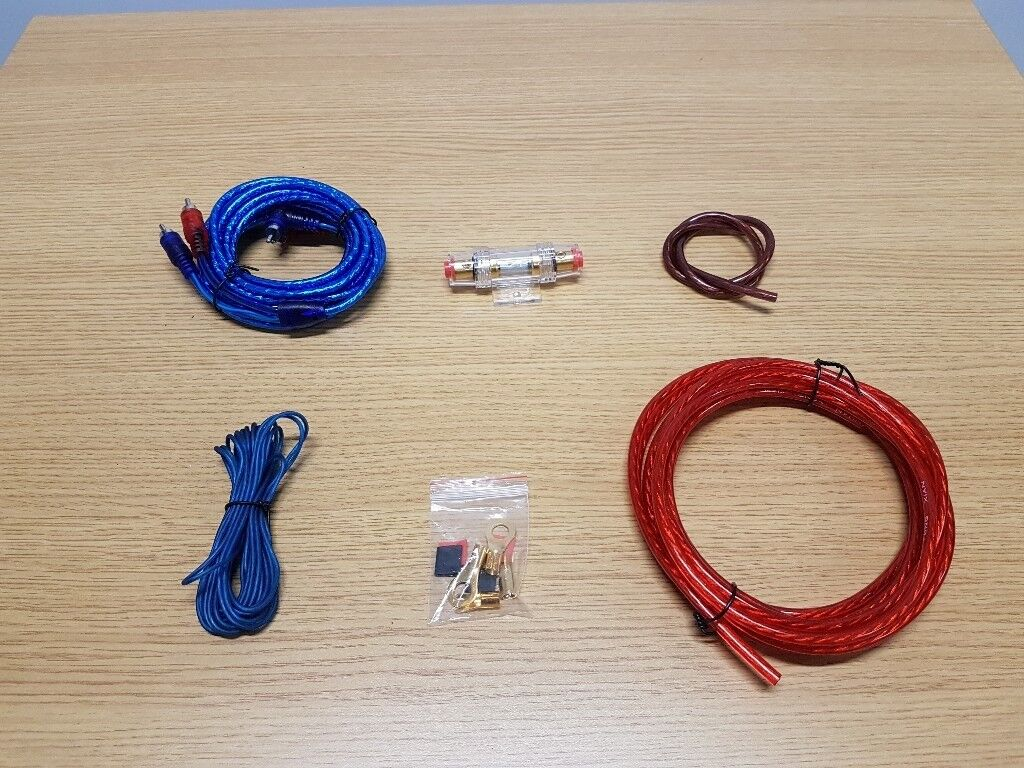 Amp Wiring Kit For Car Amplifiers In Bradford West Yorkshire