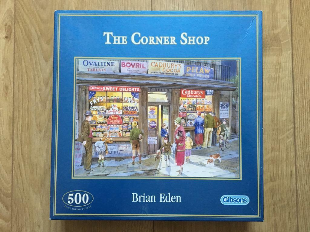 500 Jigsaw Shop Corner The PuzzleIn Southwark Piece Gibsons 8wOXNkn0P