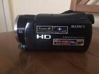 Sony HDR-XR550V Camera 240GB High Definition HDD Handycam Camcorder