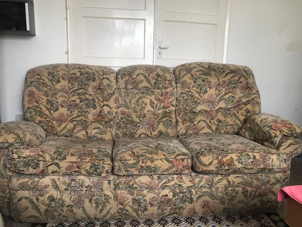 3 2 1 Chenille Sofa Set