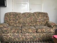 3-2-1 Chenille Sofa Set