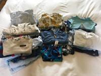 Large bundle of boys' 3-6 months clothes