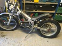 Beta rev 270cc trials bike