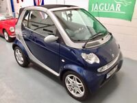 SMART FORTWO PETROL TURBO - AUTO - LOW MILES - LOW ROAD TAX £30 - OUTSTANDING CONDITION THROUGHOUT!