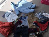 Boys clothes baby to 18 months