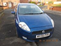 Fiat Grande Punto 1.4 56 Reg Active Sport Cheap to run new clutch gearbox brakes exhaust fitted