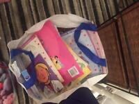 Free 2 bags of girls and boys books