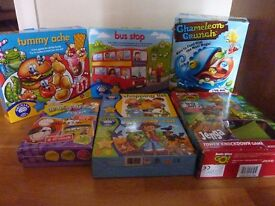 Bundle of puzzle games and toys