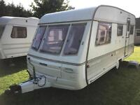Caravan 4/5/6 berth Swift Challenger 490/5SE 1994 lovely condition awning avail