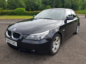 2006 BMW 520D 2.0 DIESEL MOT AND SERVICE HISTORY