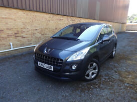 Peugeot 3008 E-HDi Active 5dr Semi-Automatic Diesel 0% FINANCE AVAILABLE