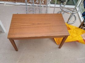 Small coffee table - useful for camping too